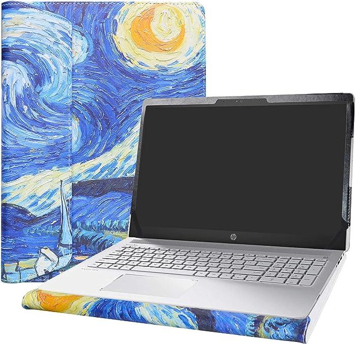 """Alapmk Protective Case Cover for 15.6"""" HP Pavilion 15 15-csXXXX 15-cwXXXX & Acer Aspire 5 15 A515-52 A515-43 Laptop[Note:Not fit Pavilion 15 15-cuXXX 15-ccXXX 15-cbXXX/Aspire 5 A515-54],Starry Night"""
