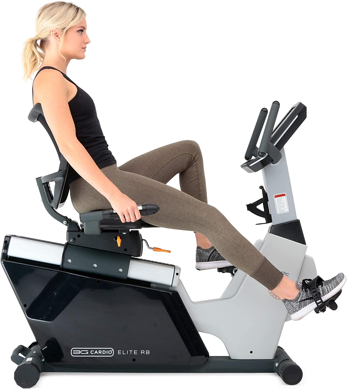 3G Cardio Elite RB Exercise Bike, Recumbent