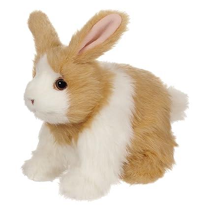 8dcdf9fd Amazon.com: FurReal Friends Hop `N Cuddle Tan Bunny: Toys & Games