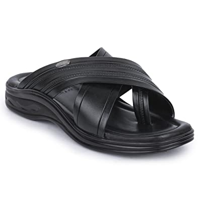 fcb8a46a6bfb Action Shoes Men s Black Sandals - 11 UK India (46 EU)(3303-BLACK)  Buy  Online at Low Prices in India - Amazon.in