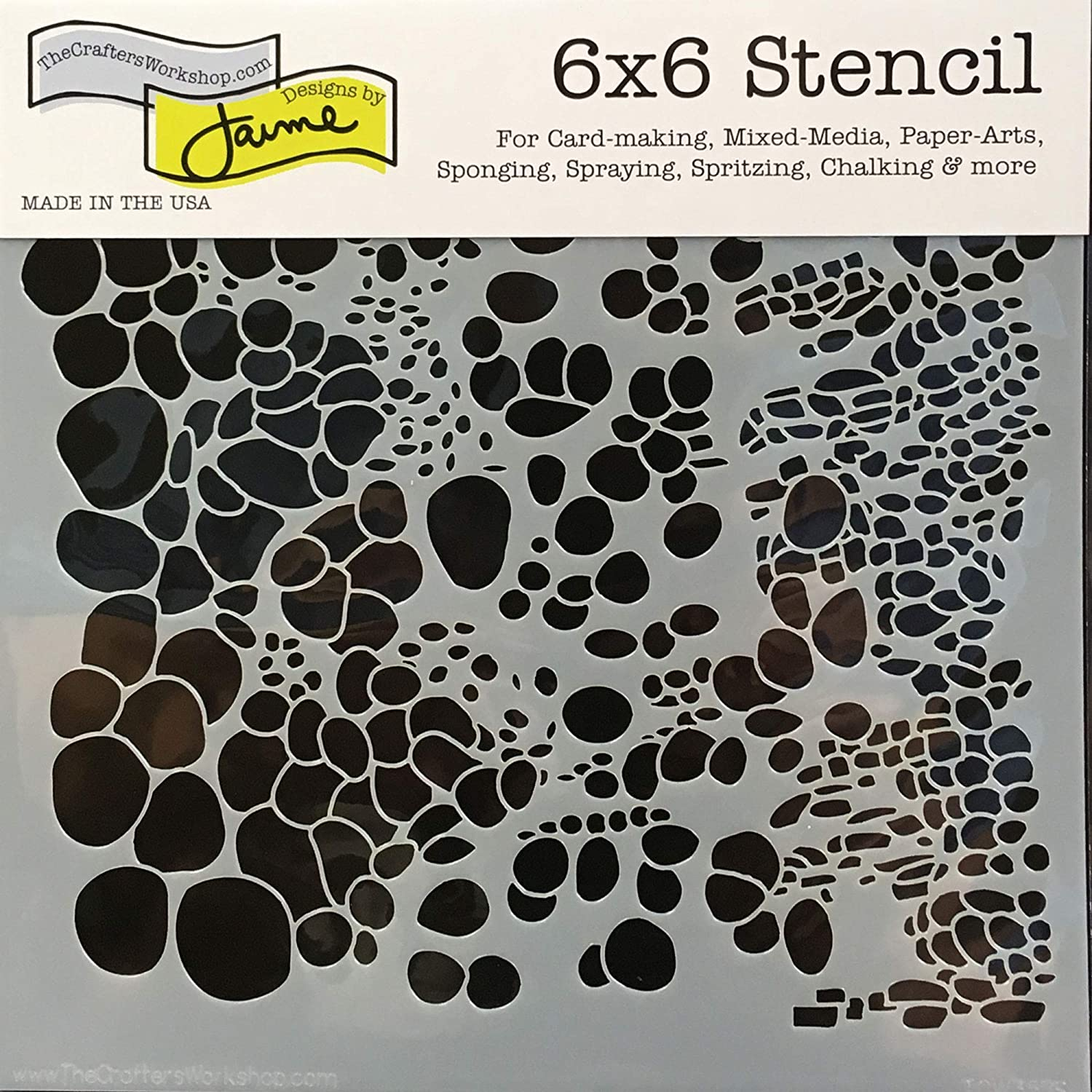 Reusable Stenciling Templates for Art Journaling and Scrapbooking Crafters Workshop Stencil 2 Pack Mixed Media 2pack Aspen Trees//Reversed Branches, 6 X 6