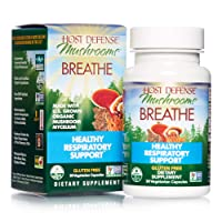 Host Defense, Breathe, 30 Capsules, Respiratory Support, Mushroom Supplement with...