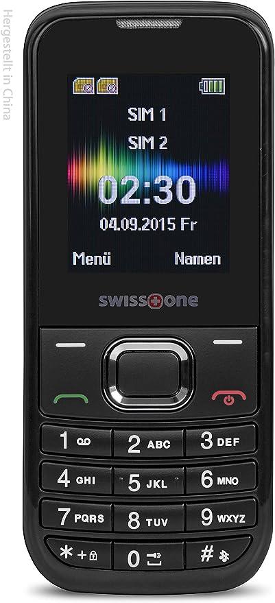 Swisstone Sc 230 Dual Sim Handy Schwarz Elektronik