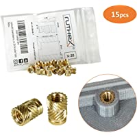 ruthex® inserto roscado 1/4-20x12.7 hilo cámara pulgadas (15