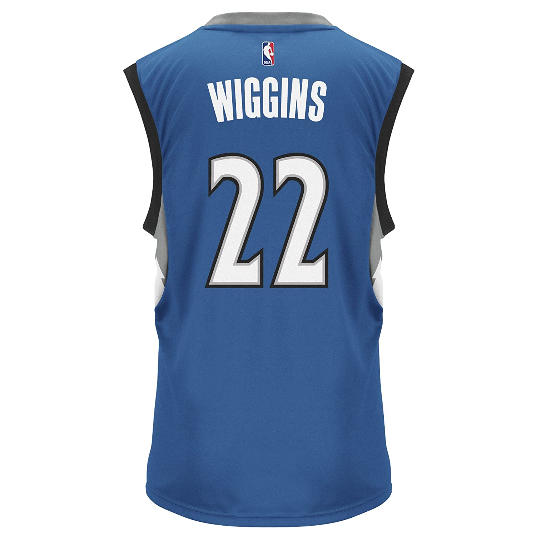 Amazon.com   NBA Minnesota Timberwolves Andrew Wiggins  22 Men s Road  Replica Jersey 50b17bcb7