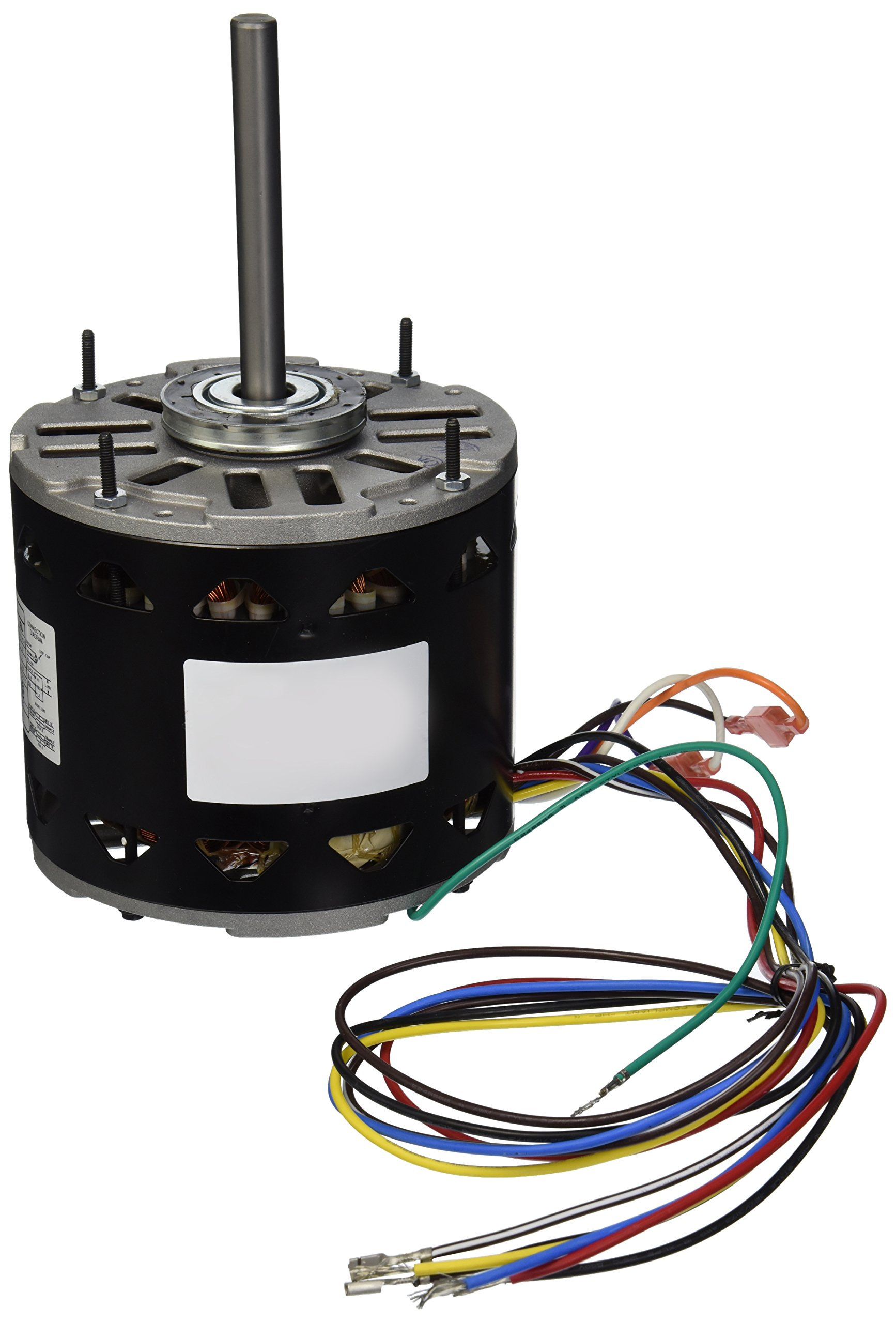 A.O. Smith D1056 1/2 HP, 1075 RPM, 3 Speed, 208-230 Volts3.2-4.3 Amps, 48Y Frame, Sleeve Bearing Direct Drive Blower Motor