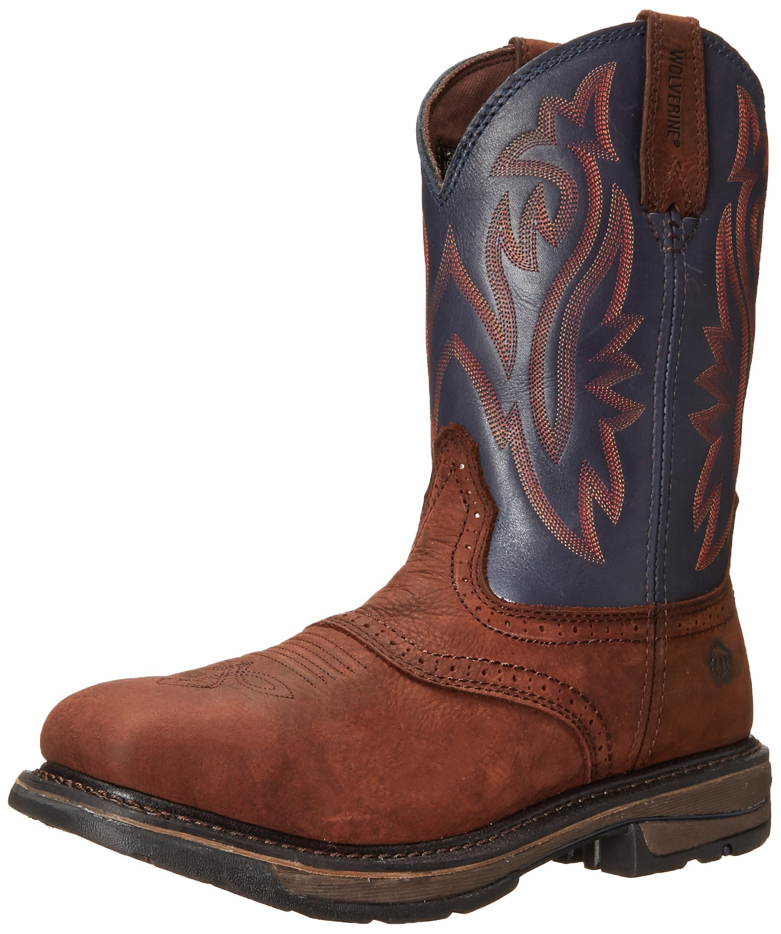 Wolverine Men's W10244 Javelina Boot, Blue, 11.5 M US