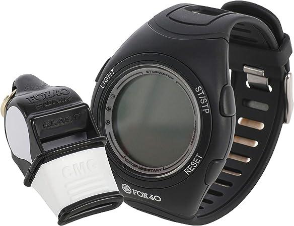 FOX 40 Whistle watch reloj + Sonik Blast CMG amarillo/negro