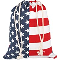 Cornhole Tote Bag Durable Cornhole Bags Storage Portable Patriotic Bean Bag Tote Vibrant Regulation Corn Hole Beans Bag Storage For Cornhole Game Carrying Tossing Outdoor Fun Stars And Stripes