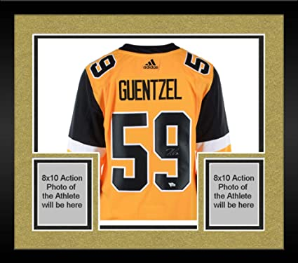 d4d556ff8 Framed Jake Guentzel Pittsburgh Penguins Autographed Gold Alternate Adidas  Authentic Jersey - Fanatics Authentic Certified