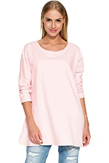 Ladies Casual Everyday Girly Crew Neck 3//4 Sleeve Flared Blouse Tunic Top FA530