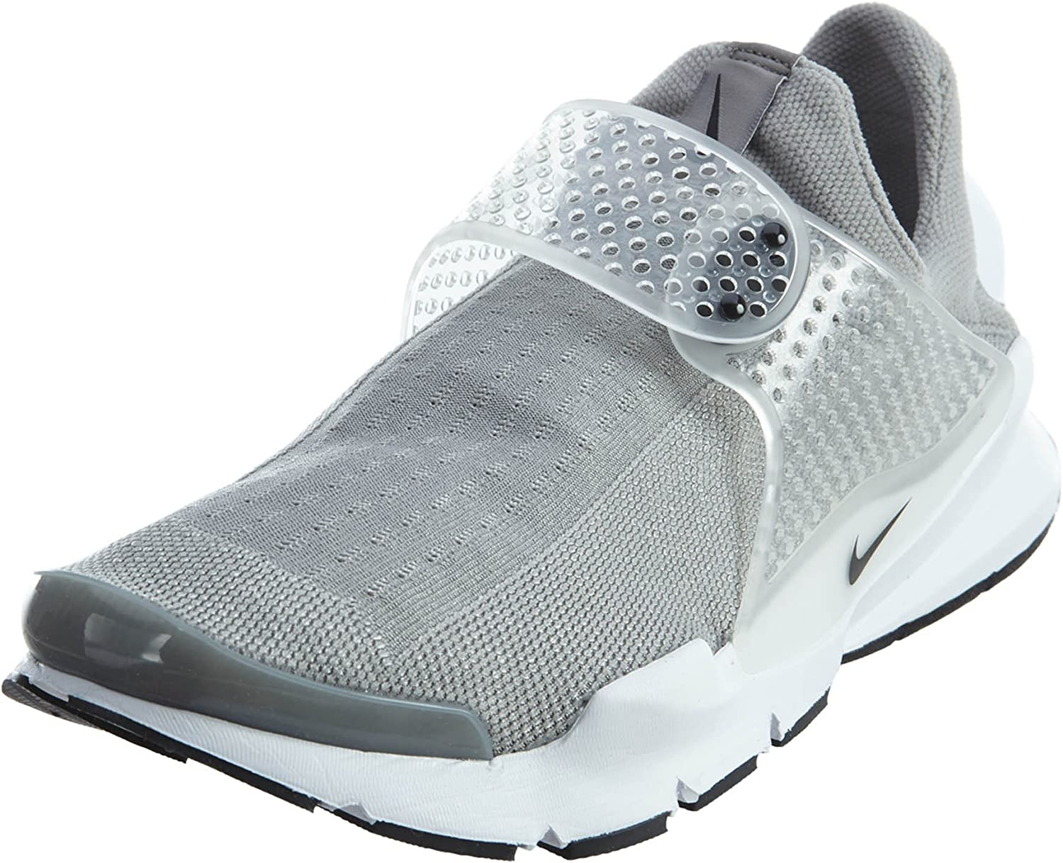 Nike Mens Sock Dart Running Shoes Medium Grey Black White 819686-002 Size 9