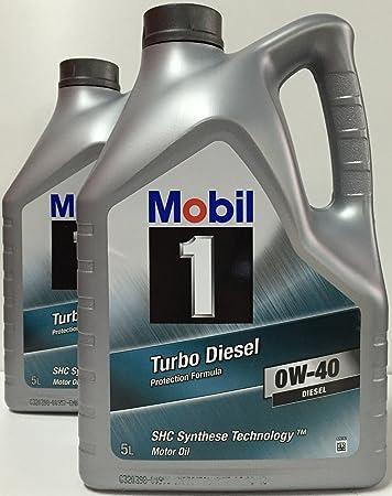 Mobil 1 Turbo Diesel 0 W 40 10 Lts 2 X 5 Lts Auto