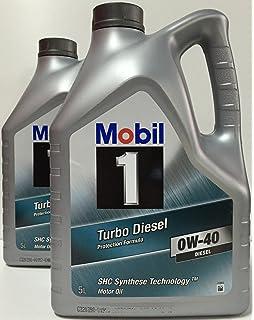 Mobil 1 - Turbo diesel 0w-40 10 lts (2x5 lts)