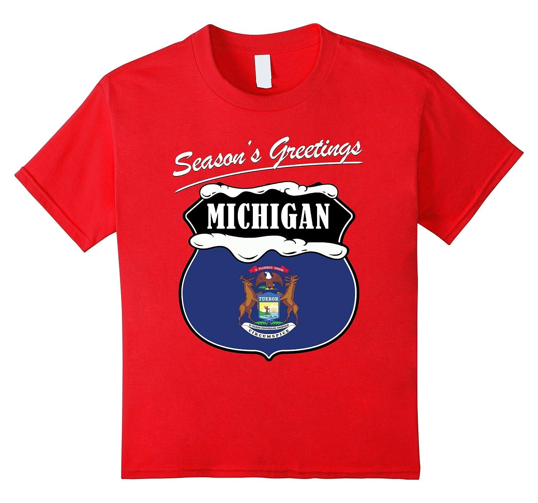 Amazon Michigan Christmas T Shirt