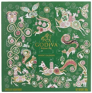 Godiva Advent Calendar.Godiva Chocolate Christmas 2017 Chocolate Advent Calendar
