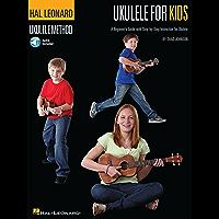 Ukulele for Kids - The Hal Leonard Ukulele Method: A Beginner's Guide with Step-by-Step Instruction for Ukulele book cover