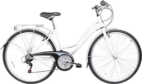 Falcon - Bicicleta híbrida para Mujer, Talla S (156-163 cm), Color ...