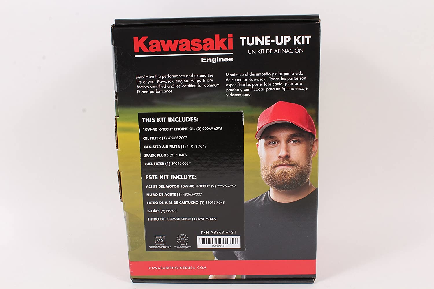 Amazon.com : Kawasaki Genuine 99969-6421 Tune Up Kit For FX481V FX541V FX600V 10W-40 : Garden & Outdoor