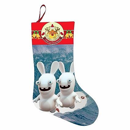 Calcetines de Navidad bowei Zombies Niños Medias Navidad impresión giving manguera