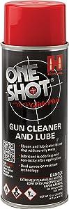 Hornady 99901 One Shot Gun Cleaner Aerosol Spray with DynaGlide Plus (10 fl oz Aerosol),Original Version