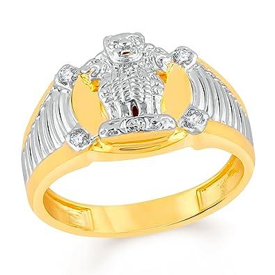 26179fda67181 Vidhi Jewels Gold Plated Ashok Stambh Alloy & Brass Cz American ...