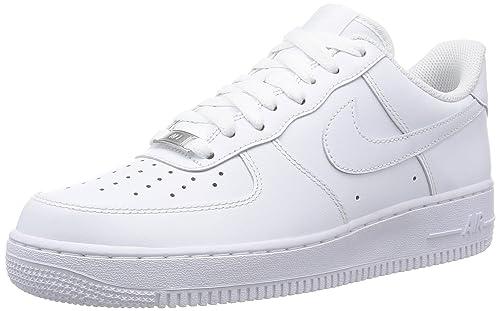 new styles 15792 44c1c ... air force 1 blanco blanco varsity rojo basketball zapatos 4b8f6 f422c   sale nike zapatillas de deporte hombre blanco 41 eu 88ef6 8aa22