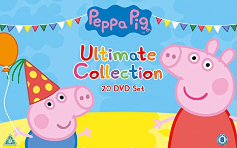 Peppa Pig - Ultimate Collection [DVD]: Amazon co uk: Phil