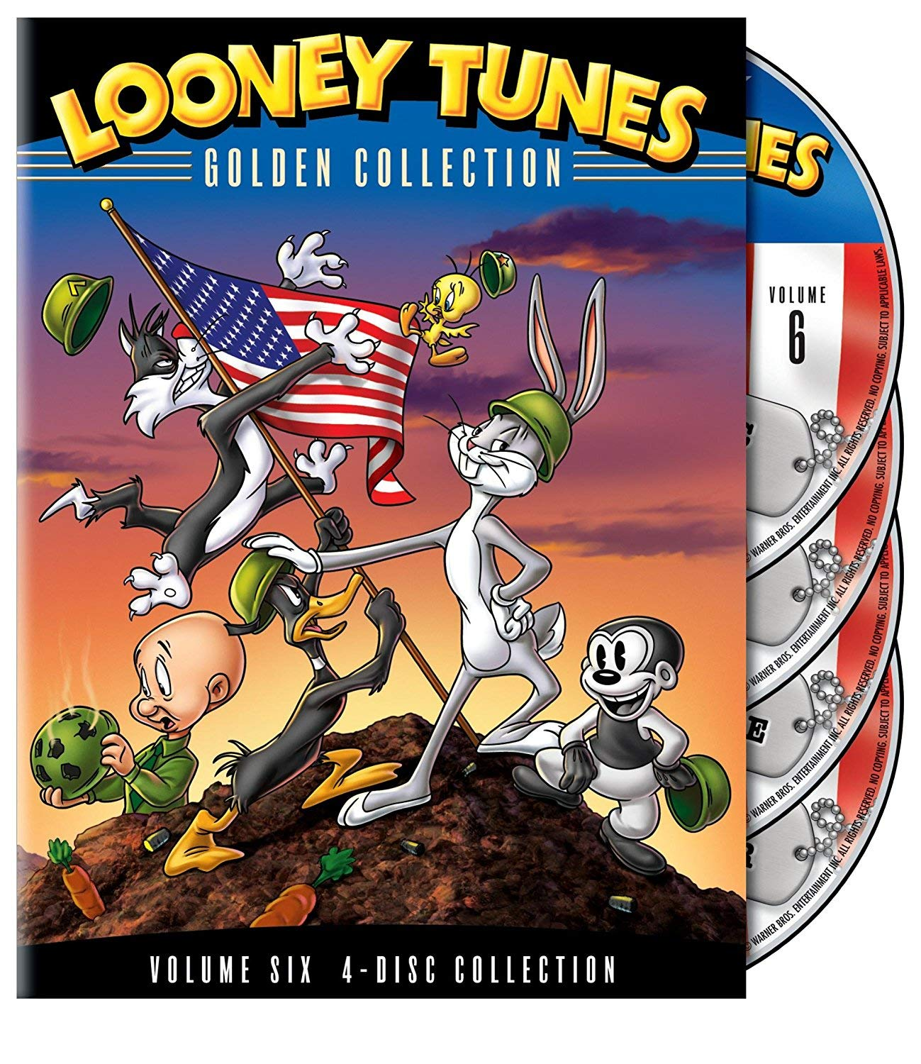 Looney Tunes: Golden Collection, Vol. 6 Chuck Jones Warner Bros. Home Video 4167338 Cartoons & Animation