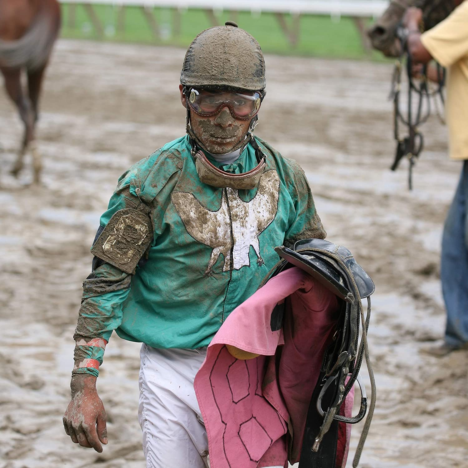 Dirt Made in USA. Used by Jockeys for Horse Racing Since 1947 Kroops Original Racing Goggles Snow and Rain Dust Pollen Great for Activities Where You Need Protection from Wind