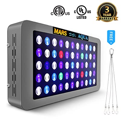 MarsAqua Dimmable 165W LED Aquarium