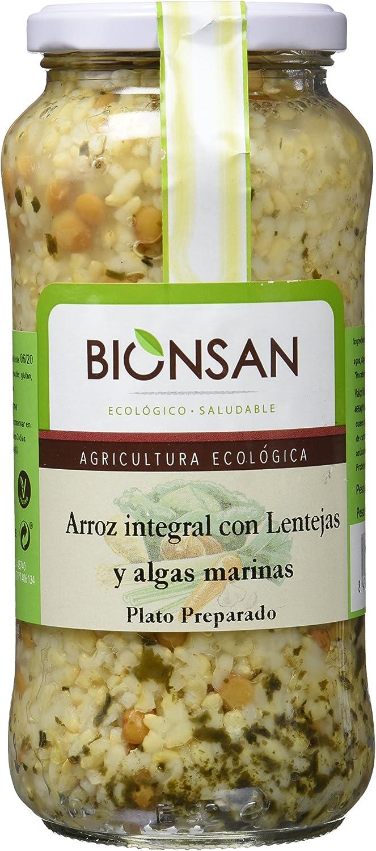Bionsan Arroz Integral con Lentejas y Algas Ecológico - 4 ...