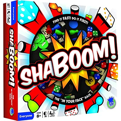 Haywire Group Shaboom! Board Game: Toys & Games