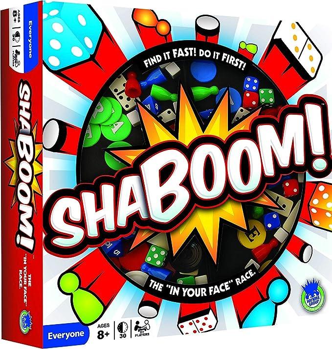 University Games 0117 Shaboom - Juego de Mesa, Multicolor: Amazon ...