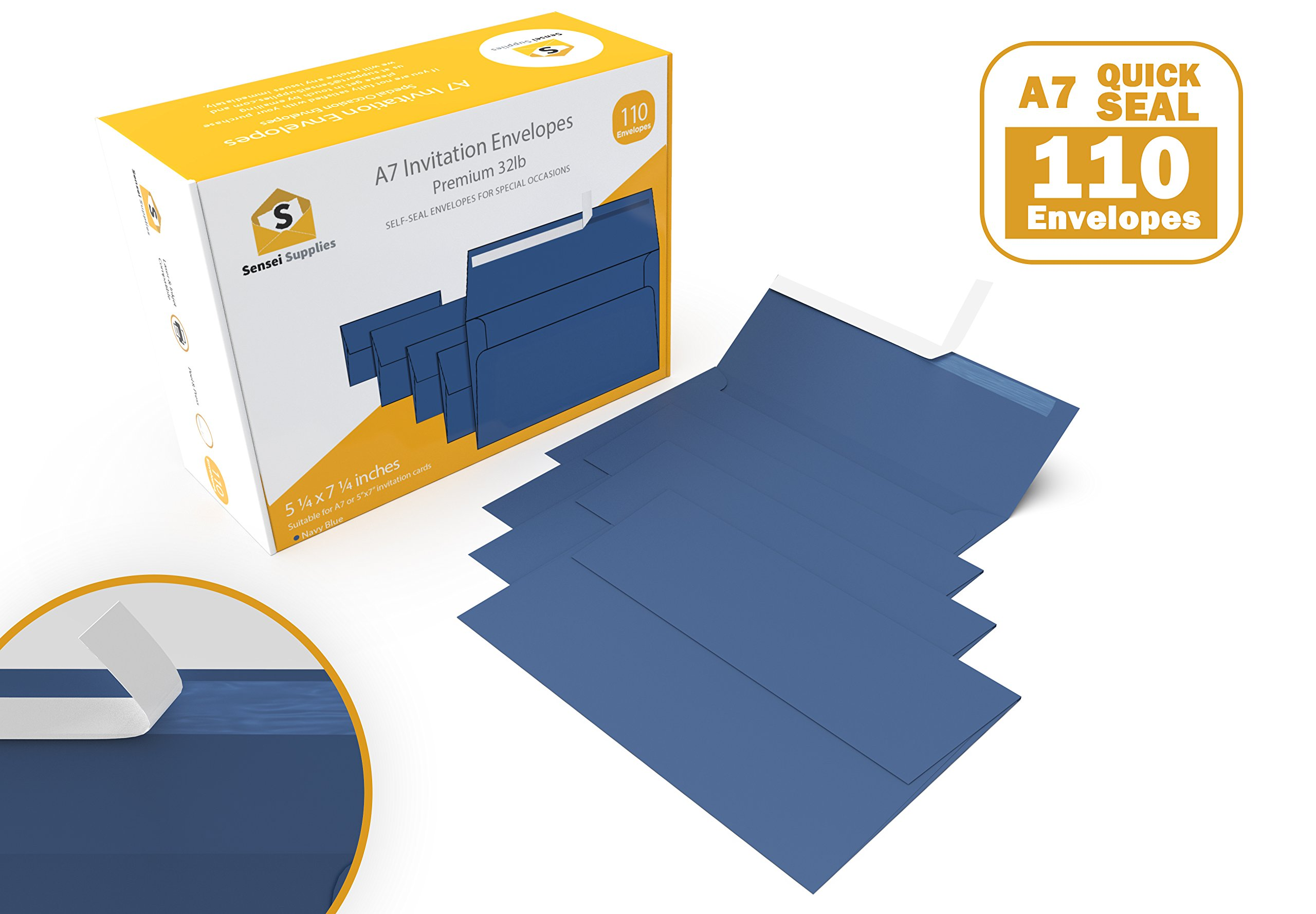 Best rated in greeting card mailing envelopes helpful customer navy blue 5 x 7 invitation envelopes for 5x7 cards a7 5 x 7 inches perfect for weddings graduation any cards 120 gsm 32lb80lb text m4hsunfo