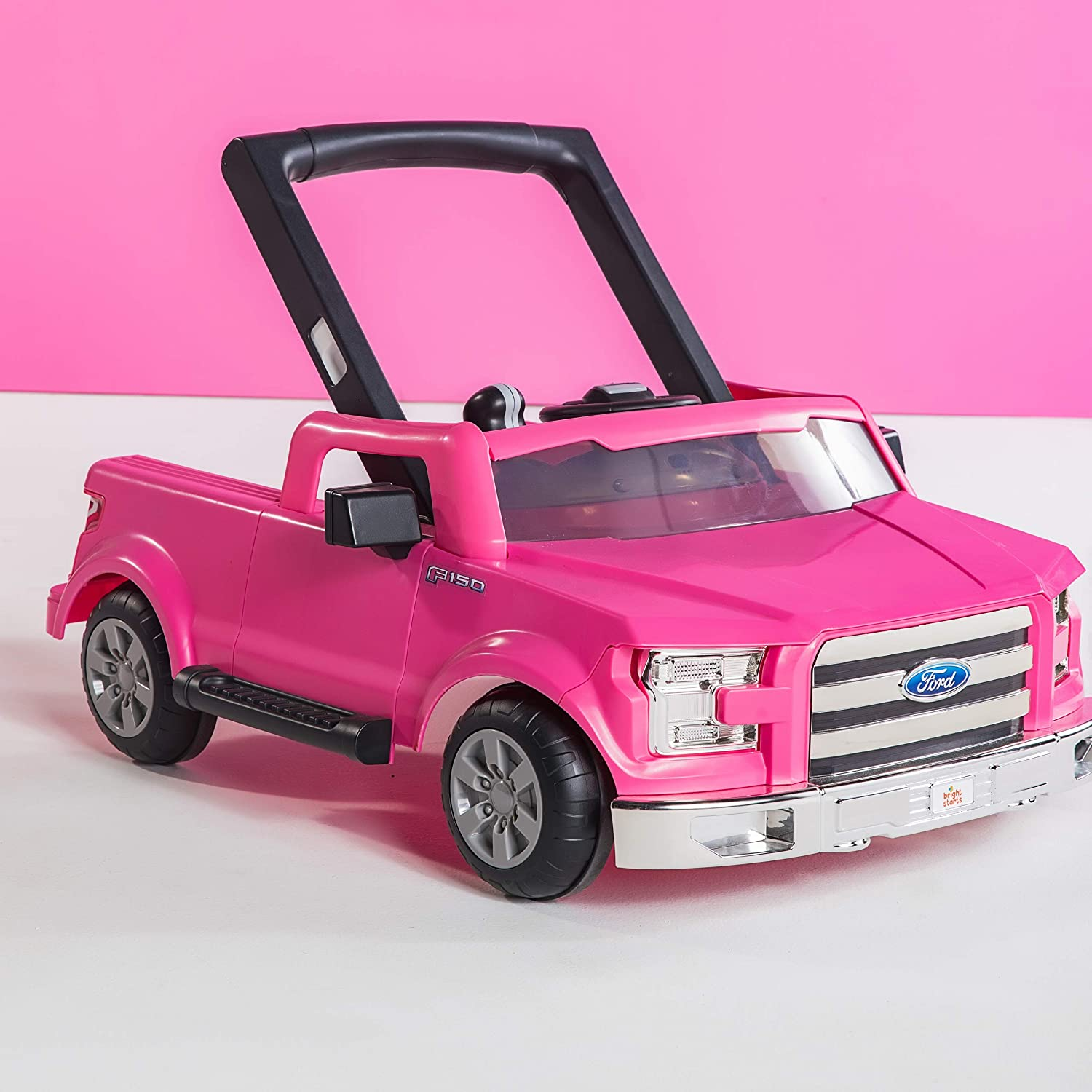 Bright Starts 3 Ways to Play Walker White Ford F-150 Ages 6 months +