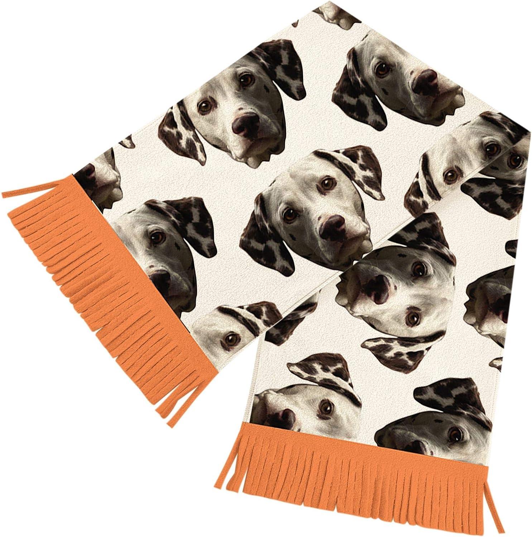 Dalmatian Dog Print Design Ladies Soft Scarf