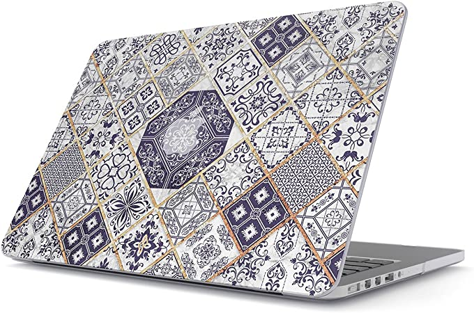 BURGA H/ülle Kompatibel F/ür MacBook Pro 16 Zoll Case Model A2141 with Touch Bar /& Touch ID Gr/ün Smaragd Juwel Marmor Muster Emerald Green Gold Marble Plastik Case