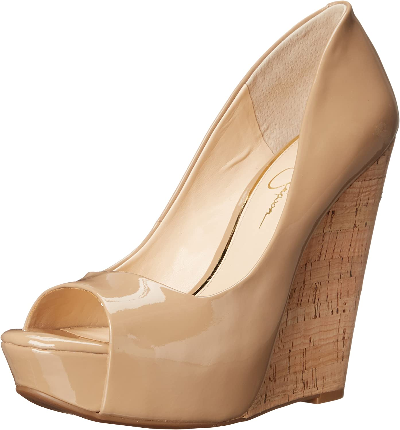 Jessica Simpson Womens Bethani Wedge Pump
