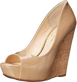 2afe706a5f8 Jessica Simpson Women s Bethani Wedge Pump
