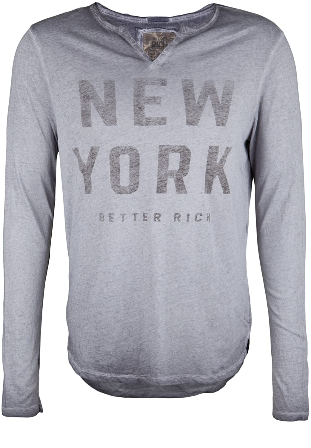 BETTER RICH Herren Longsleeve DIVIDE NEW YORK