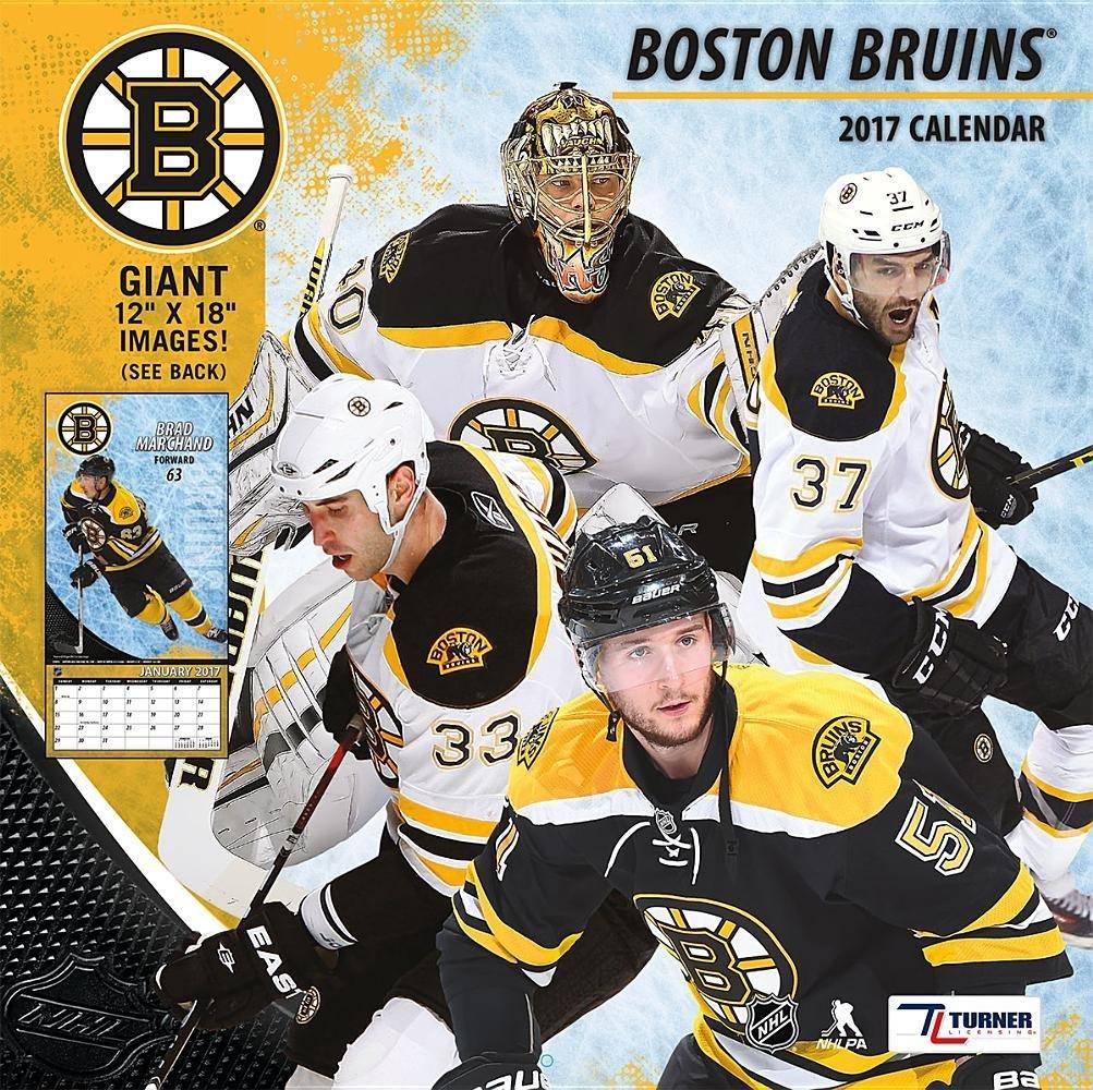 Boston Bruins 2017 Calendar Lang Holdings Inc 9781469339887 Amazon Books