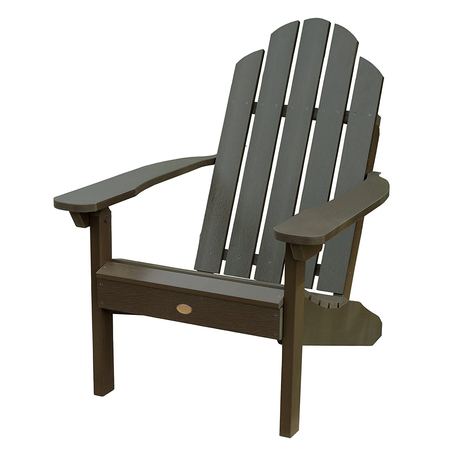 Amazon Highwood Classic Westport Adirondack Chair Mocha