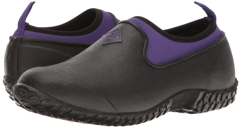 Muck Gummistiefel Stiefel Damen Damens's Muckster Ii Niedrig Gummistiefel Muck Schwarz (schwarz/Purple) f5ef21