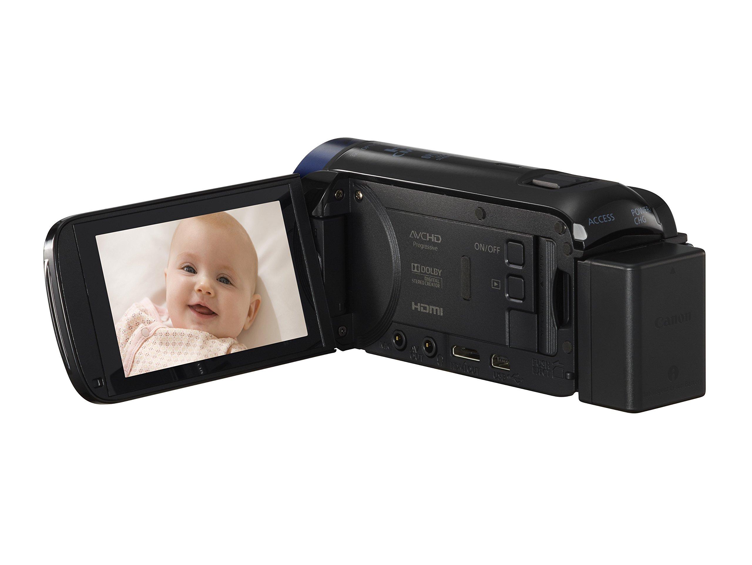 HFR40 HFR42 HFR60 HFR300 Lightweight 57-inch Professional Camera Tripod for Canon Vixia HFR80 HFR82 HFR800 HFR600 Camcorders HFR70 HFR62 HFR52 HFR32 HFR72 HFR50 HFR400 HFR700 HFR500