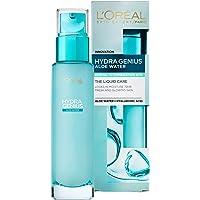 L'Oreal Paris 巴黎欧莱雅 Hydra Genius透明质酸 + 芦荟保湿水保湿霜,适用于中性至混合肤质,70 毫升