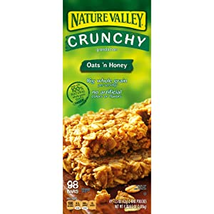 Nature Valley Oats 'n Honey Crunchy Granola Bars, 2 pk./49 ct.