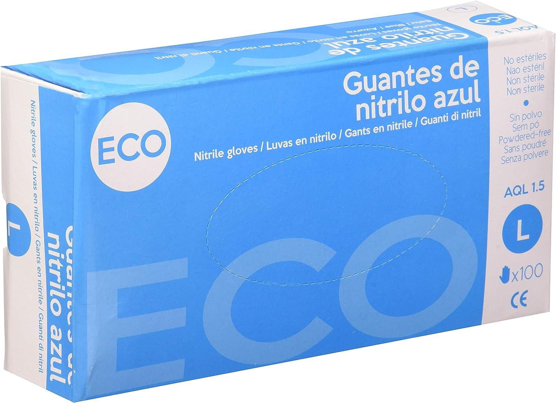 Safetop Guante New Mark Nitri Az S/P 100/U Gde 5 Unidades 100 ml