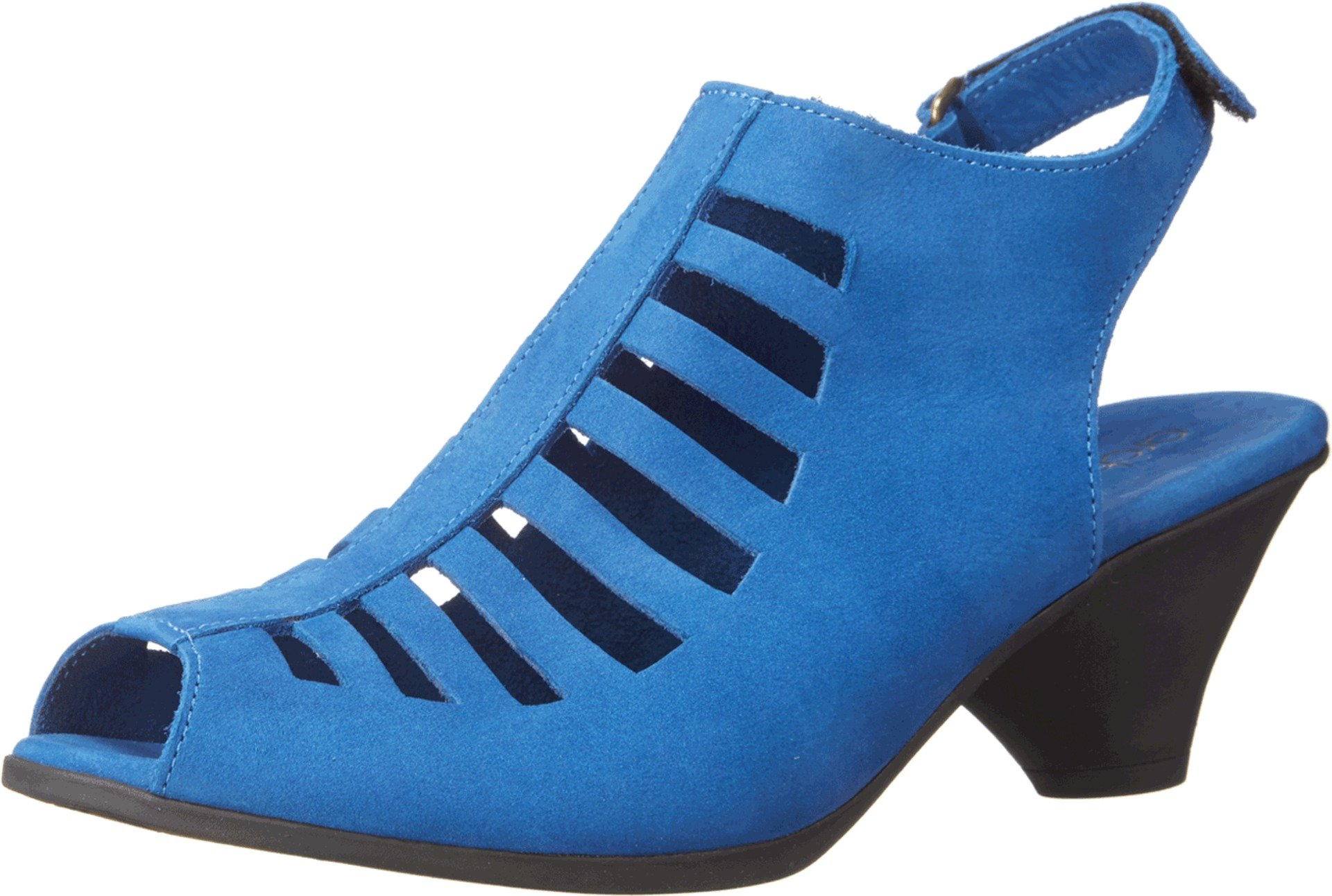 Arche Women's 'Exor' Birdcage Sandal in Miro (Royal Blue) Nubuck (42 EU (US Women's 11 M))