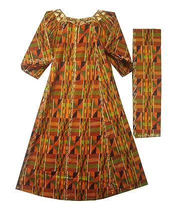 f182c0ae581 Amazon.com  Decoraapparel Women African Dress S